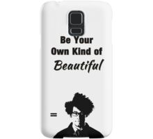 """The IT Crowd Inspired Moss Minimalist Art Print """"Be Your Own Kind of Beautiful"""" Samsung Galaxy Case/Skin"""