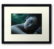 The Blue - II Framed Print