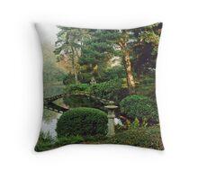 Picturesque Garden  Throw Pillow
