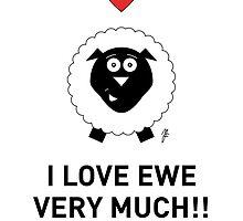 SHEEP CARD 1 by mjfouldes