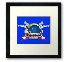 Spiny Norman Framed Print