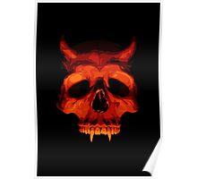 Devil Skull Poster