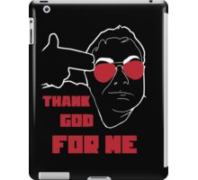 Thank God For Jim Sterling (white line) iPad Case/Skin