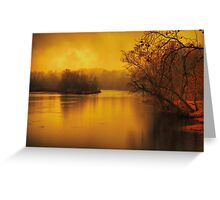 River of thought Greeting Card