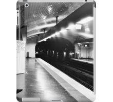 Paris, Metro, Alone iPad Case/Skin