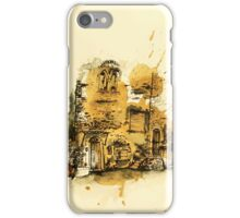 Old town Terrcina iPhone Case/Skin