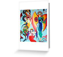 Faith Hope and Charity Greeting Card