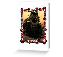 Old Locomotive Greeting Card
