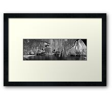 Boston Lagoon Infrared 1 Framed Print
