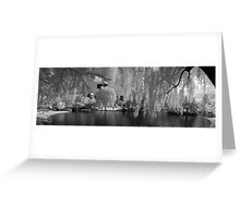 Boston Lagoon Infrared 1 Greeting Card