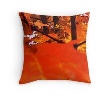 just orange... Throw Pillow