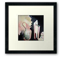 still life w jug Framed Print