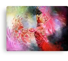 Flamencoscape 13 Canvas Print