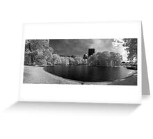 Boston Lagoon Infrared 4 Greeting Card