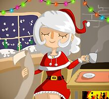 Mother Christmas by Feindherz