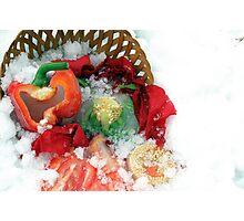 Fallen Food Photographic Print
