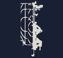 Seattle–Tacoma Airport Diagram One Piece - Long Sleeve