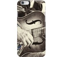 Guitar Player iPhone Case/Skin