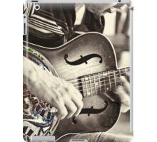 Guitar Player iPad Case/Skin