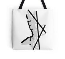 Washington National Airport Diagram Tote Bag