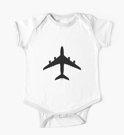 Airbus A380 (top) One Piece - Short Sleeve
