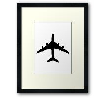 Airbus A380 (top) Framed Print