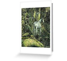 Unicorn & Pixies Greeting Card