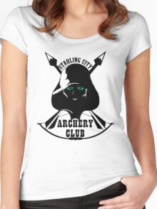 Starling City Archery Club - Arrow Women's Fitted Scoop T-Shirt