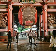 Tokyo Temple by sparrowhawk
