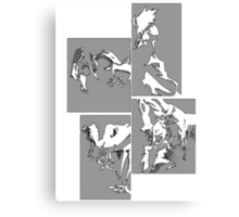 Cowboy Bebop Panels 2 Canvas Print