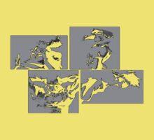 Cowboy Bebop Panels 2 One Piece - Short Sleeve