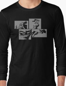 Cowboy Bebop Panels 2 Long Sleeve T-Shirt