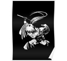 minimalist of kenshin Poster