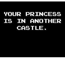 Your Princess is in Another Castle Photographic Print