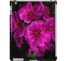 Shocking Pink and Fuchsia - a Vivid Succulent Bouquet iPad Case/Skin