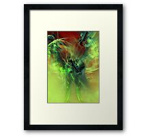 Dragons Abstract Framed Print
