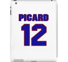 National Hockey player Michel Picard jersey 12 iPad Case/Skin