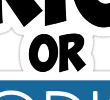 Trick or Vodka Sticker