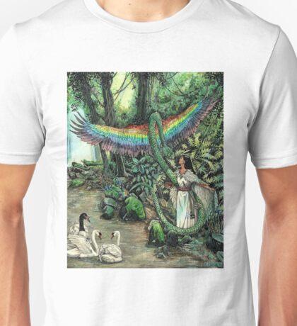 Swanmay & Couatl Unisex T-Shirt