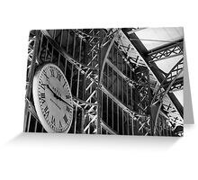 Liverpool Lime Street Train Station  Greeting Card
