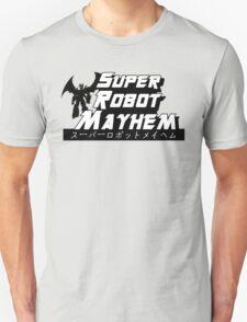 Super Robot Mayhem Black and White Mazinkaiser Unisex T-Shirt