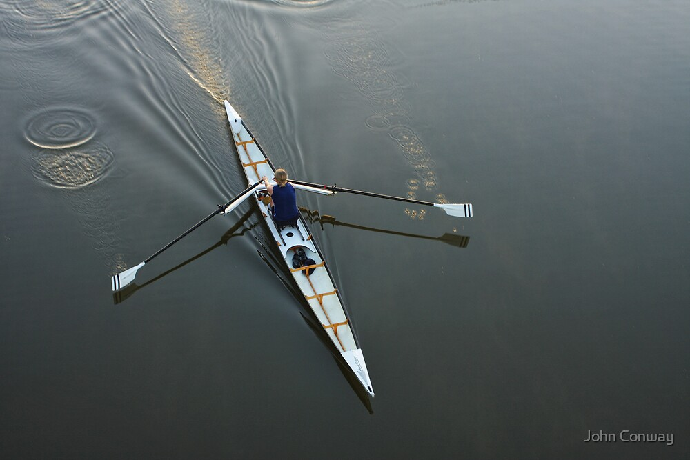 Early Rower by John Conway