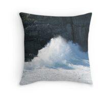 Crashing Wave in NL Throw Pillow