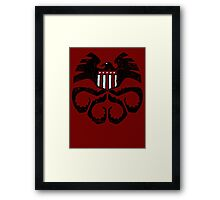 SHIELD-Hydra Framed Print