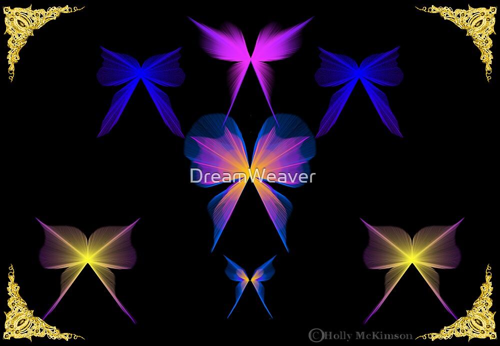 Fantasy Butterflies by DreamWeaver