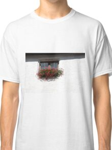 White Wall Window Classic T-Shirt