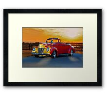 1940 Ford Deluxe Convertible Framed Print