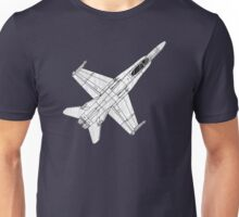 F 18 Hornet Jet Fighter Unisex T-Shirt
