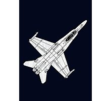 F 18 Hornet Jet Fighter Photographic Print