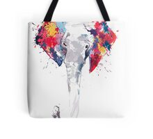 Elephant Art Tote Bag